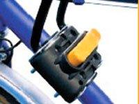 Крепежный блок переднего велокресла, которое устанавливается на  раму