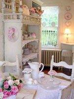 Отличительные черты интерьера в стиле шебби-шик. Источник http://liveinternet.ru