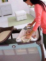 Детская кровать-манеж с местом для пеленания. Источник http://kaknado.su