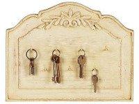 Красивая доска и несколько крючков— место для хранения ключей готово! Источник http://1–decor.ru