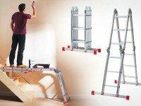 Стремянка-трансформер— незаменимый помощник в ходе ремонта. Источник http://groupon.co.uk