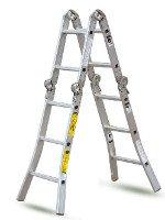 Алюминиевая лестница-стремянка отличается своей легкостью. Источник http://www.funnotic.com