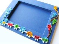 Как оформить рамку для детского рисунка своими руками фото 410